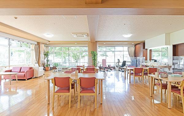 介護施設の多目的室