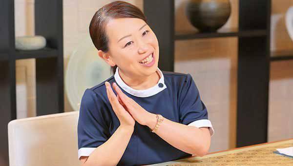 看護マネージャー 中村 理恵さん